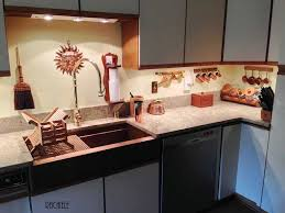 Copper Kitchen Sink by Farmhouse Sink Installation In Existing Cabinet