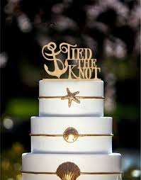 nautical cake toppers wedding cake topper the knot anchor nautical cake topper