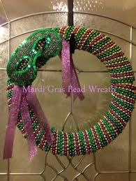 mardi gras bead wreath mardi gras bead wreath i so many from this past mardi