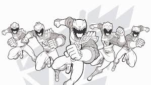 power rangers wild force coloring pages coloring