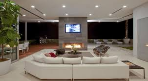 S Home Transformed Into Modern Beverly Hills Masterpiece - Outdoor family rooms