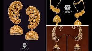 bengali gold earrings gold kaan bala designs bengali earrings collection