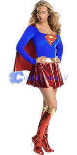 Superman Halloween Costumes Adults Superman Dress Halloween Costumes Women Cosercosplay