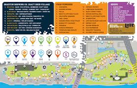 Festival Map Map Bunbury Music Festival