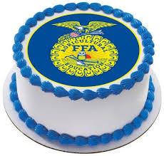 birthday cake decorations ffa edible birthday cake or cupcake topper edible prints on cake