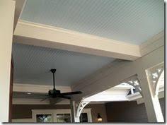 Beadboard Porch Ceiling by Vinyl Beadboard Porch Ceiling Detail Lanai Ceiling Ideas