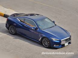 infiniti car coupe so we got a 2017 infiniti q60 coupe drive arabia