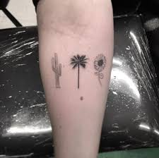 tiny palm tree tattoo 61 amazing palm tree tattoos best 10
