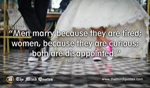 wedding quotes oscar wilde marriage quotes for of all ages at themindquotes