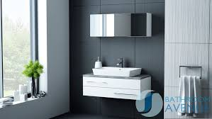 Bali Bathroom Furniture Modern Vanity Unit White Counter Top Basin White Sink Cabinet