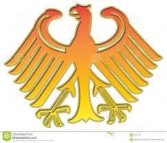 german golden eagle stock photos image 422143