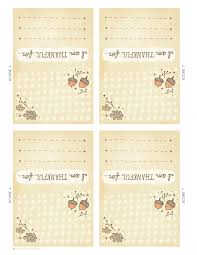 printable placecards a friendsgiving story with printable place cards think make