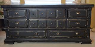 Distressed Black Bedroom Furniture by Distressed Black Dresser B U0027s Refurnishings