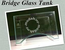 Tank Aquascape Bridge Glass Tank Aquascape Aquatic Plant Fish New Home