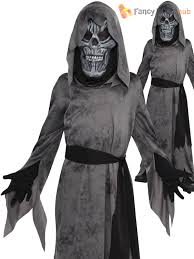 children ghastly ghoul costume boys grim reaper halloween fancy