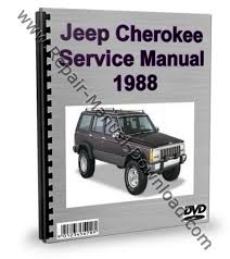 jeep repair manual jeep 1988 service repair manual workshop downlo