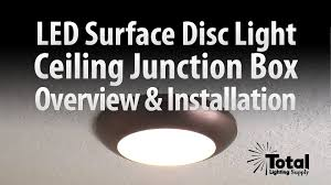 sylvania ultra led disc light for ceiling lighting overview
