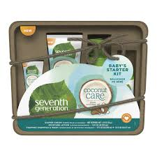 chagne gift set seventh generation baby personal care gift set 4 pack babies r us