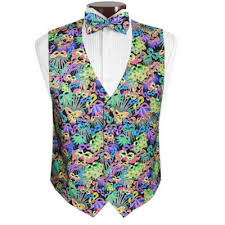 mardi gras formal attire david s formal wear mardi gras carnival vest and tie set