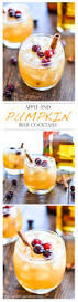 thanksgiving drinks alcohol apple pumpkin beer cocktails