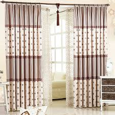 Insulated Window Curtains Modern Insulated Linen Bay Window Blackout Curtains