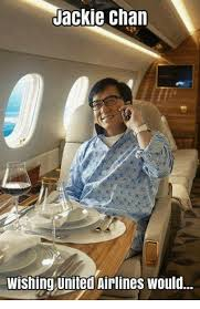 Jacky Chan Meme - jackie chan wishing united airlines would jackie chan meme on me me
