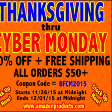 thanksgiving thru cyber monday sale at a maze n forums