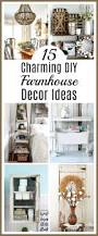 15 charming diy farmhouse decor ideas for a farmhouse chic home