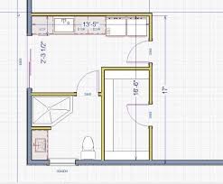 bath floor plans small master bath plans