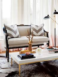 Glam Coffee Table by Interior Feminine Glam Home Style At Home