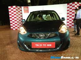 nissan micra active india 2013 nissan micra facelift variants u0026 specifications motorbeam