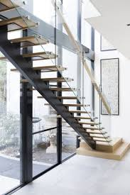wooden railing designs for stairs modern staircase kits interior