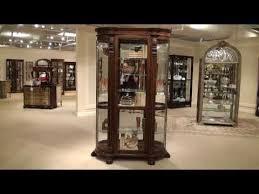 Pulaski Furniture Curio Cabinet by Curved End Curio Cabinet By Pulaski Furniture Home Gallery