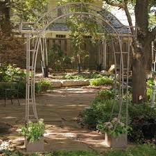 garden arbor trellis home outdoor decoration