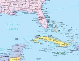 Grand Cayman Map North America Political Wall Map Mapscom North America Political