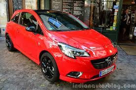 opel 2014 models 2015 opel corsa 3 door at the 2014 paris motor show indian autos