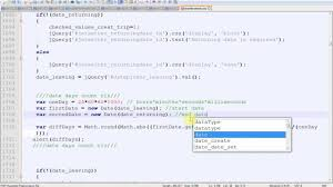 Count Pages In Php Scripts How To Count Days Between Two Dates In Javascript Jquery And Php
