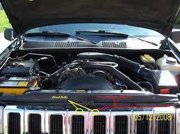 jeep open 1994 jeep cherokee the hood release lever is broken