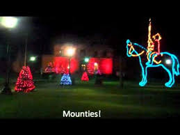 christmas lights in niagara falls ontario niagara falls christmas lights youtube