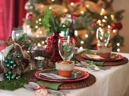 Christmas Decoration Ideas For Table Settings by Christmas Table Setting Ideas Country Style Decoration Natural