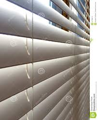 close up white wood window blinds stock photo image 51799513