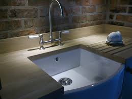 Belfast Sink In Bathroom Kitchen Showroom In Derbyshire