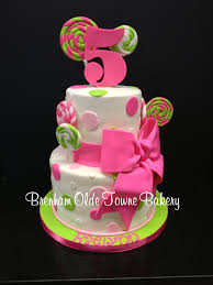 lime green and pink candy birthday cake brenham olde towne bakery