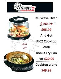 Nuwave Cooktop Nuwave Convection Cooktops Image For Induction How It Works