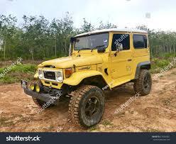 jeep yellow 2017 10 july 2017 jerantut malaysia yellow stock photo 674206051