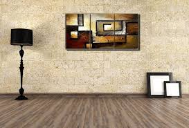 abstract wall art teal large abstract canvas wall art picture