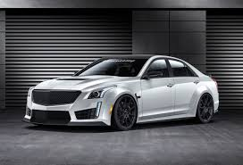 build cadillac cts hennessey tries to build the fastest sedan in the