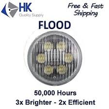 led flood light replacement par36 round led flood bulb for truck tractor work light replacement