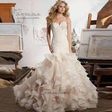 wedding dresses designer best designer mermaid wedding dress organza ruffles lace