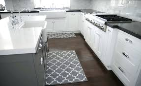 Grey And White Kitchen Rugs Kitchen Rug Runner Tapinfluence Co